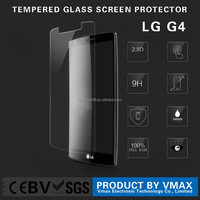 For Mobile phone accessories LG G4 temper glass screen protector / 0.26mm 9H tempered glass screen protector For LG G4