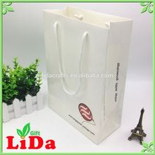 Business Advertising burberry paper bag