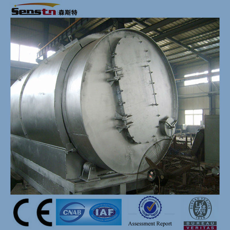 Crude Oil to Diesel Machine/Waste Oil Distillation Plant