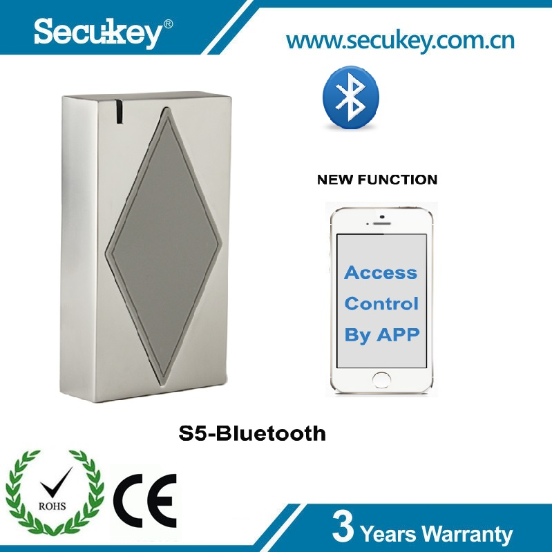Secukey Factory Price Security Device,RFID Reader Door Access Bluetooth Access Controller