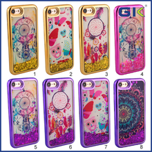 [GGIT] National Colorful Pattern Design Celular Back Cover Electroplating TPU Cell Phone Case For IPhone 7