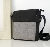 mens Camel Felt computer Document casual sling cross body bag