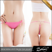 2015 New Arrival Fashional Bling Diamond T Back Thong Sexy Panty G String