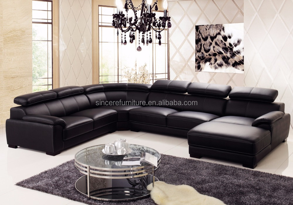 Classic corner chesterfield sofa living room furniture