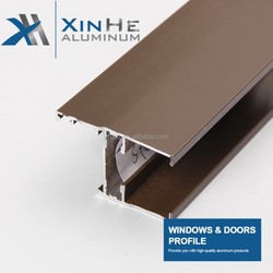 Various Type Of Modern Colour Thermal Break Coating Aluminium Alloy Glazing Extrusion Profile For Window And Door