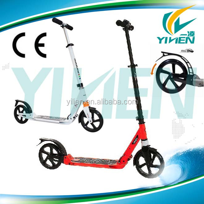 2 wheel aluminum kick scooter