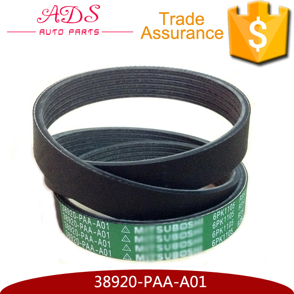Alternator compressor belt fan drive V-belt gates OEM:38920-PAA-A01