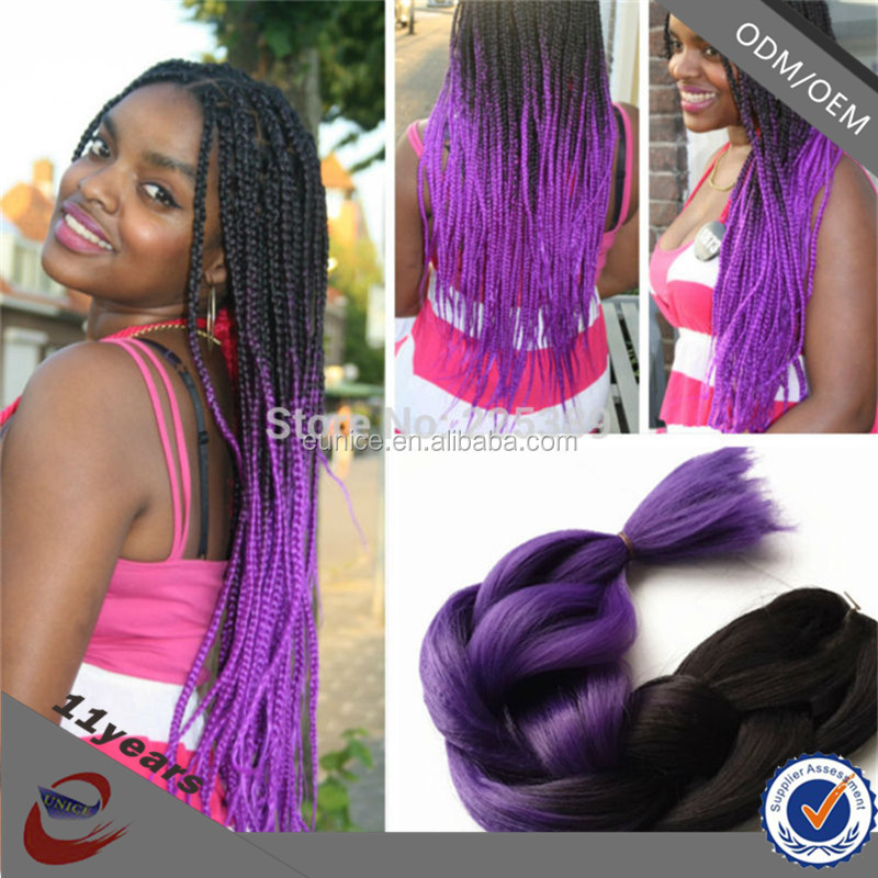 Crochet Braids Hair Care : Hair Jumbo Braid Ombre Color Jumbo Braiding Hair For Crochet Braids ...