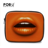 Oline Charming Sexy lips laptop sleeve for 11.6 inch laptop