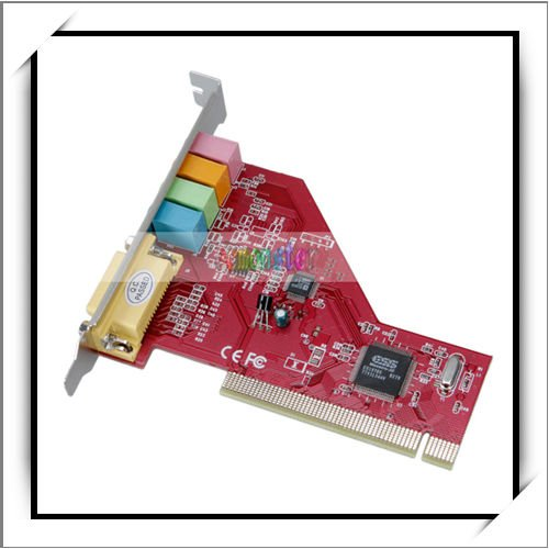 Wholesale PCI Audio Sound Card w/Game MIDI Port