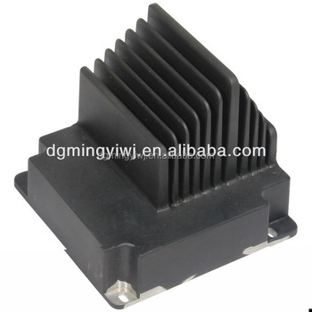 Aluminum heat sink with ISO