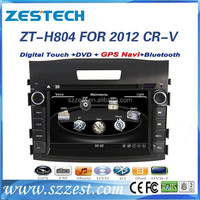 ZESTECH 7 inch digital panel auto car dvd player with gps system for HONDA CRV