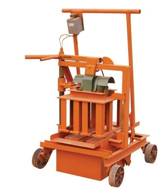 Construction Machine minitype brick making machine QMR2-45/ clay brick machine