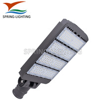 Bronze housing 200w 300w outdoor car parking lot pole mounted LED street lights with UL DLC SAA