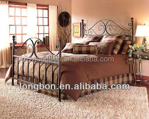 Дизайн железной кровати