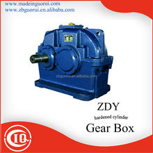 ZDY100 cylindrical speed reducer for Two roller cold press/gearbox for Separator /gear box for Toy processing machinery