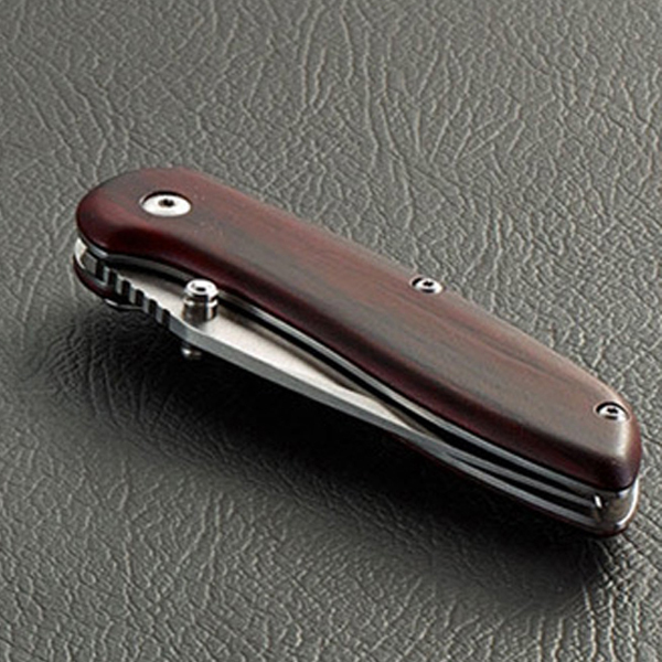 High quality stainless steel folding <strong>knife</strong>, wooden handle eco-friendly material <strong>knife</strong>