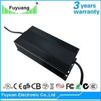 RoHS Certification Fully Enclosed Design 48V 4A Li-Ion Battery Charger For Electric Golf Cart