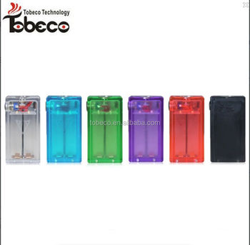 Clear/Black/White/Red/Purple mechanical box mod 1:1 clone box mod vaporizer in stock