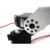 ALSRobot 2 DOF RB-150MG Pan and Tilt Kit with Aluminium Offset Servo Bracket (Silver)