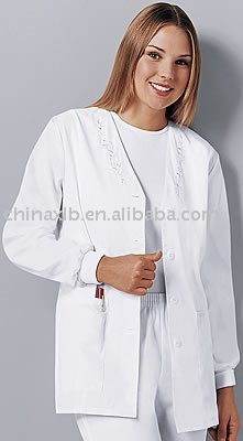Scrubs - Cherokee Embroidered Warm-up