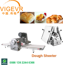 Automatic 220V Pizza Croissant Dough sheeter Rolling Dough Bakery Machine