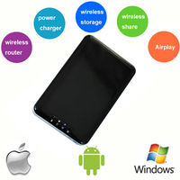 "2014 Newest Technology 2.5"" Wifi Wireless hard drive/Disk for iPhone & iPad Mini For Christmas Gift"