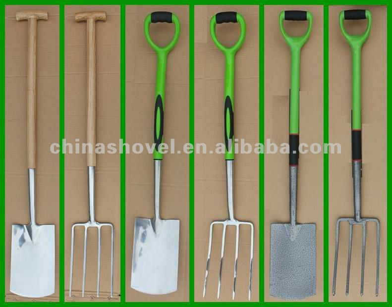 F6805 FORK WITH STEEL TUBE PVC COATED HANDLE