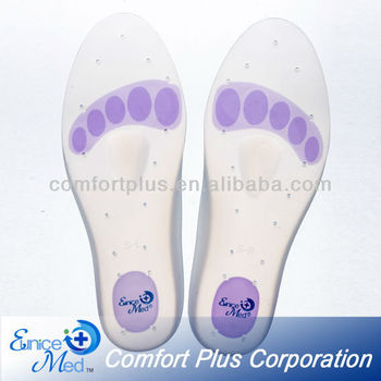 OBM soft Footcare Silicone gel Insoles