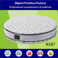 2014 Folding king size round mattress (N167)