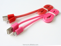 2016 New style dual Jelly colors mobile phone usb charge cable for all phones