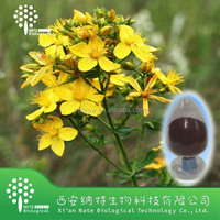 Anti-depression Natural Plant Extract St John Wort powder extract and St John Wort herb powder