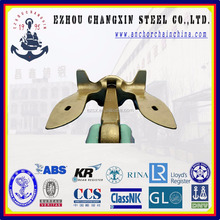Professional U.S Navy stockless anchor manufacturer with ABS, LR, BV, NK, DNV, RINA, RS, IRS,CCS Certification