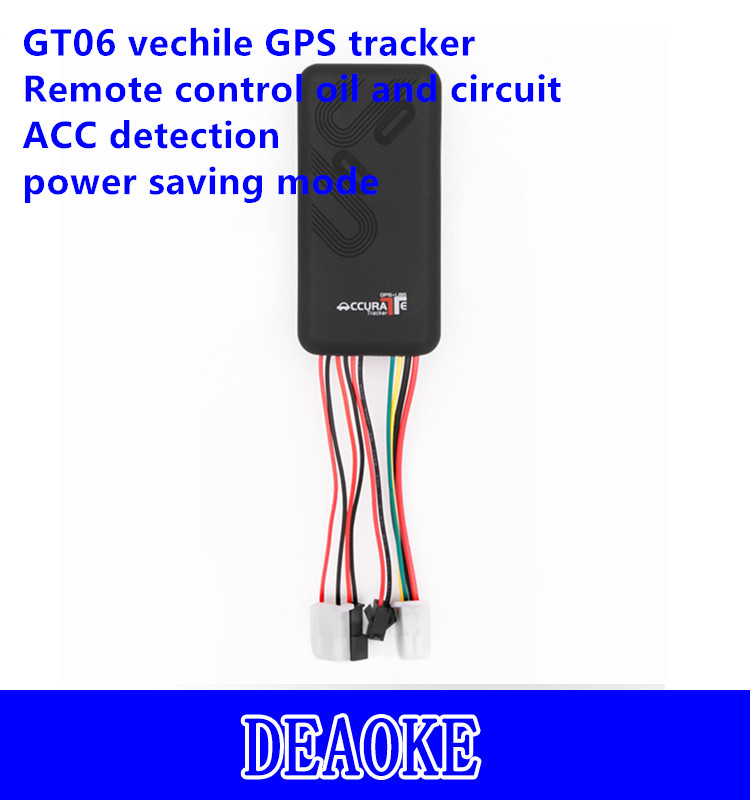 ACC detection GT06 gps tracker for vehicle motor bike with Power failure alarm