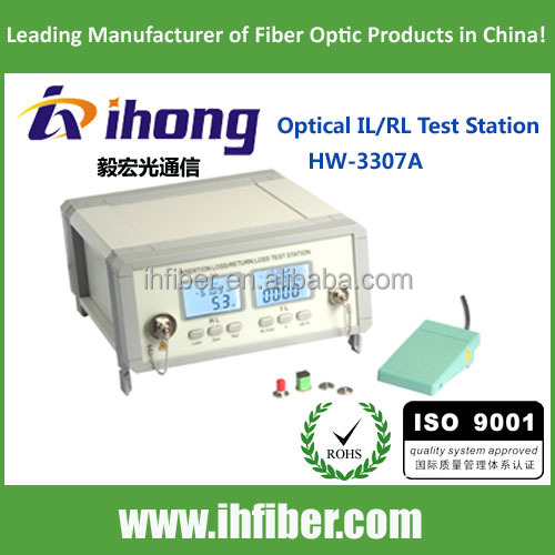 Optical IL/RL Test Station insertion loss return loss tester