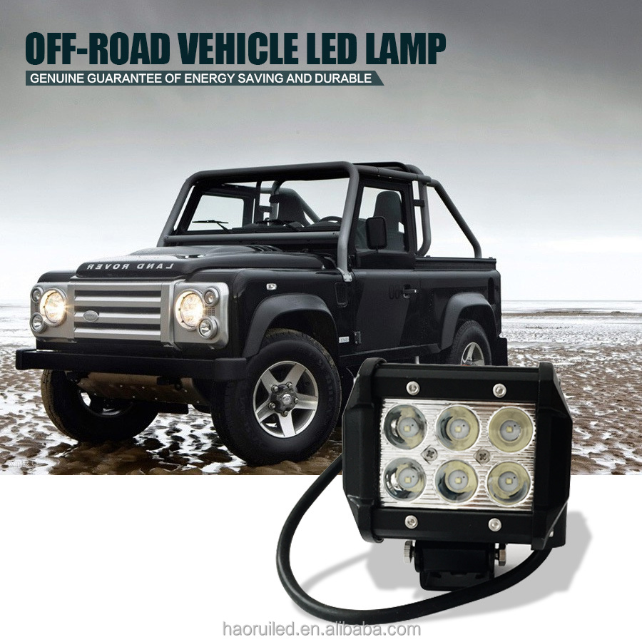 High power 3.9 inch 18W LED working light for ATV jeep and truck 10-30V 2000lm working lamp