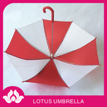 small toy red rain kid umbrella