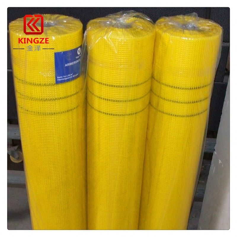 good quality 2.2*2.5mm fiberglass mesh cloth for gypsum board factory