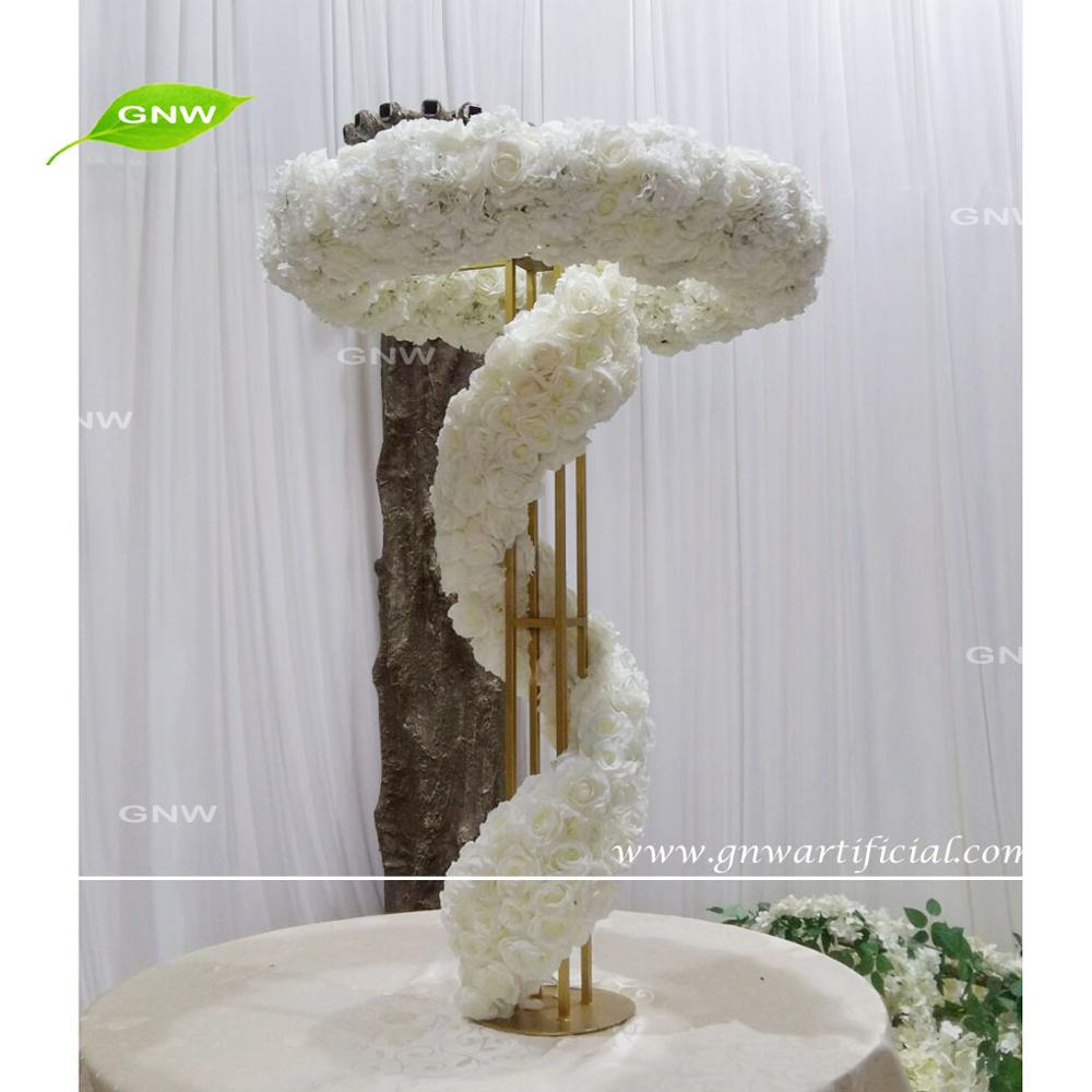 GNW FLARR1707004 Wisteria Flower Arrangement Table Wedding Decoration Stand