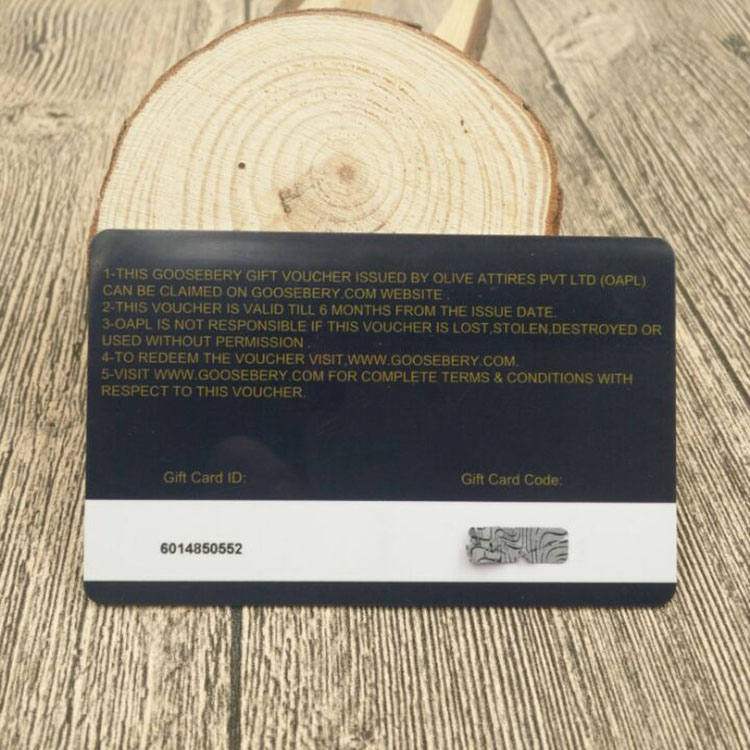 Free Sample serial number coating PVC plastic Gift Scratch <strong>Card</strong> with customized design