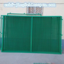 powder coated metal fence panels /wire mesh fence