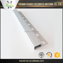 chinese supplier flexible aluminum stair edge nosing trim