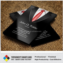 Funny Business Visiting Card Black Business Card Frosted PVC Visiting Card
