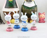 Q version animal resin bobble head doll/custom resin figure/china toy factory