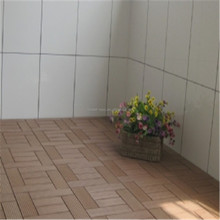 boat decking material 300*300*20mm floor tiles car showroom wpc floor tiles