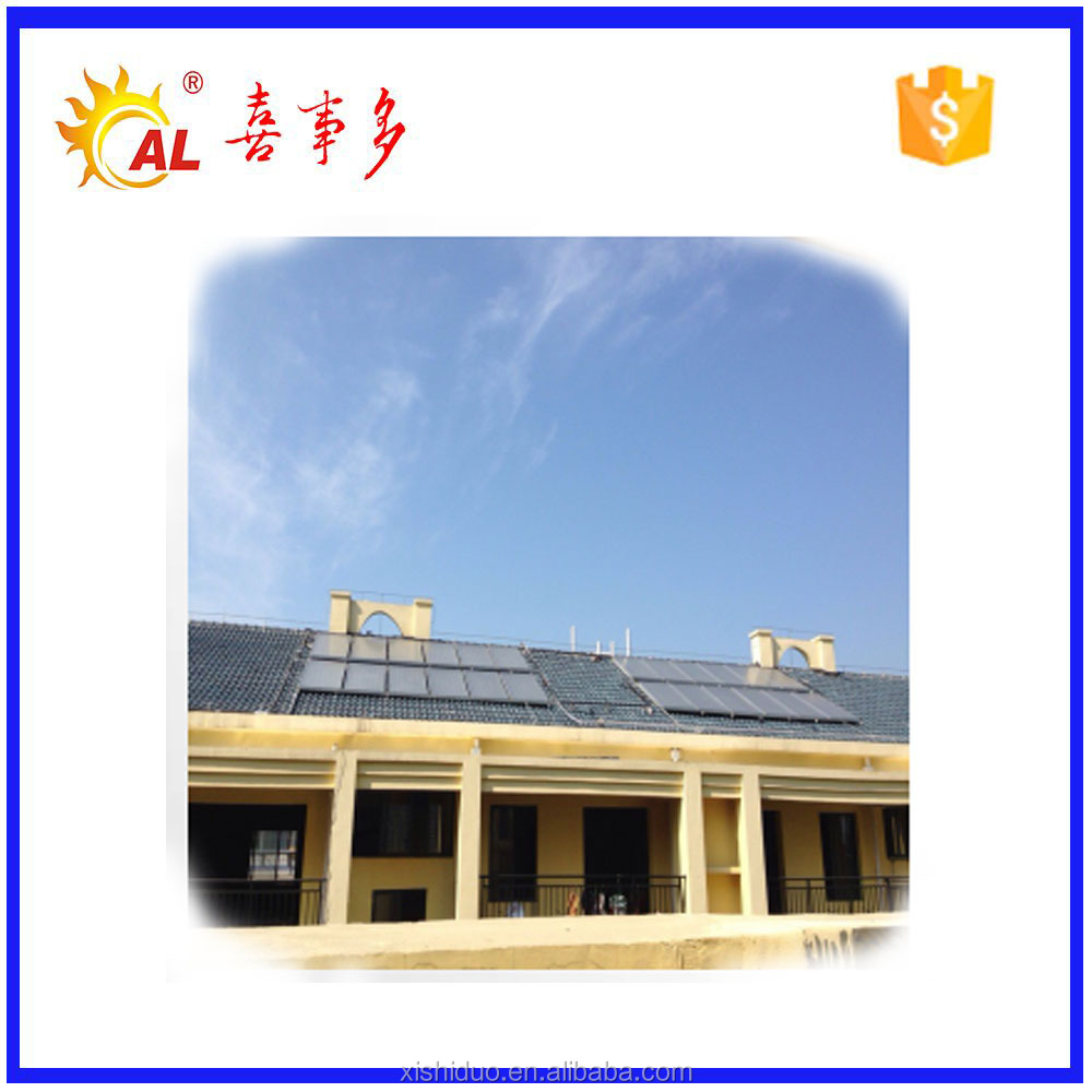 Solar water heating collector for swimming pool heater