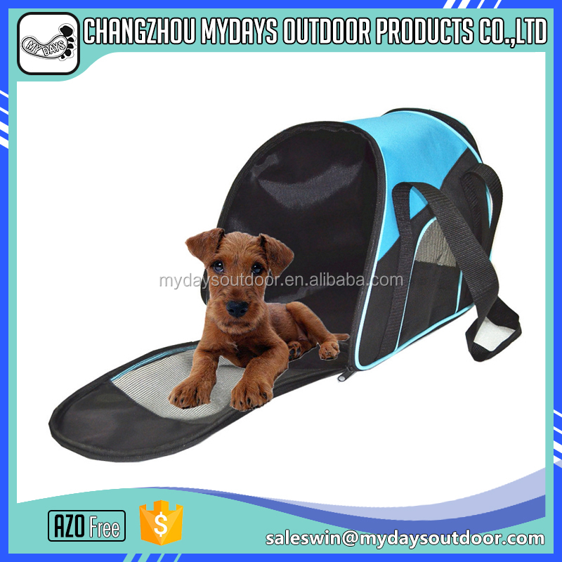 Multicolor fashion design 600D oxford waterproof dog carrier bag cheap price