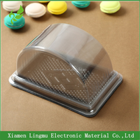 China Wholesale plastic blister display cake slice box packaging