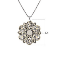 Ceramics Pendant latest design pearl necklace pearl chain necklace designs bridal