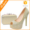 Wholesale Latest Designs High Heels Ladies Shoes And Matching Bags Hot Italian Party Shoes And Bags